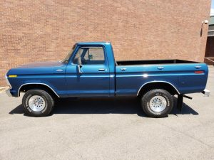 1978 Ford F-150 4×4 Pick Up Blue