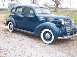 1937 Dodge Sedan Blue & Silver
